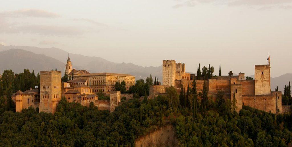 La Alhambra de Granada, uno de los primeros lugares UNESCO de España