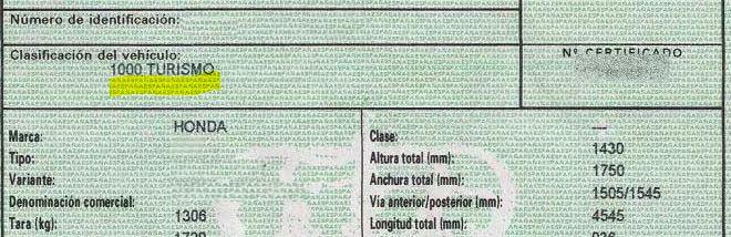 Donde ver la clasificación actual de tu furgoneta