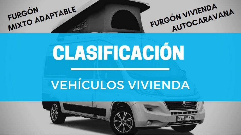 clasificacion furgonetas vehiculos vivienda