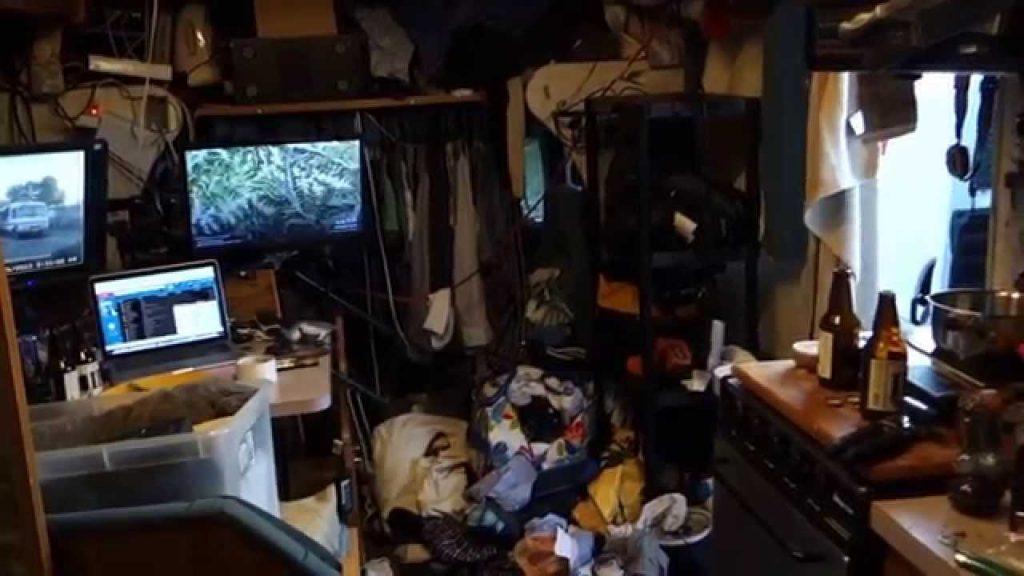 desorden furgoneta camper