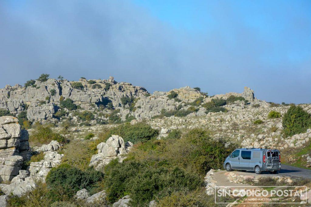 furgoneta camper torcal antequera
