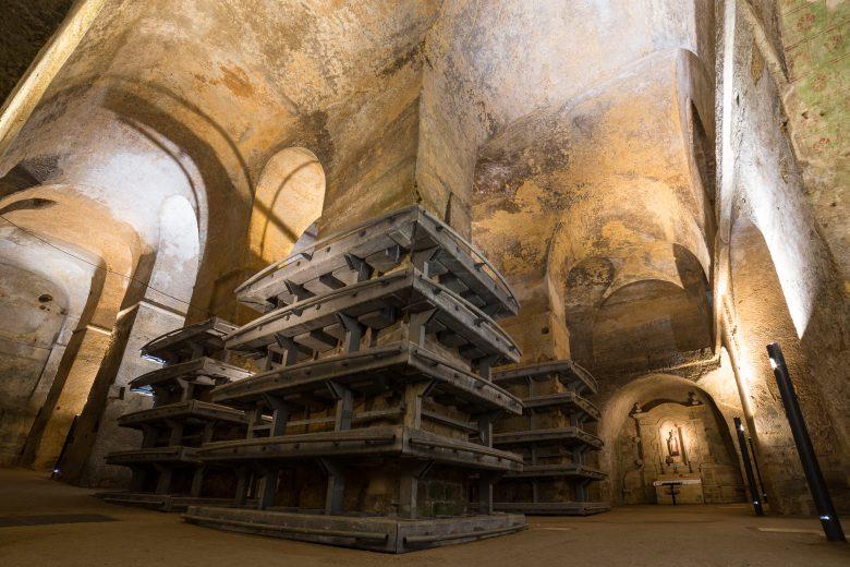 Interior Iglesia Monolítica Saint Emilion