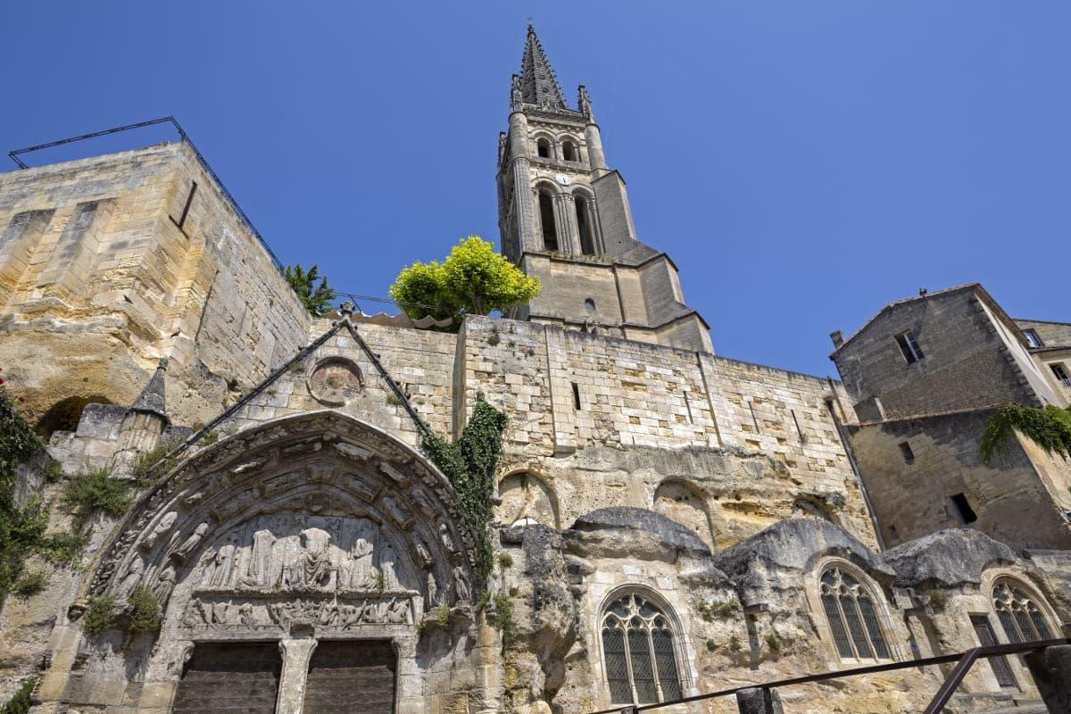 Iglesia Monolítica Saint Emilion