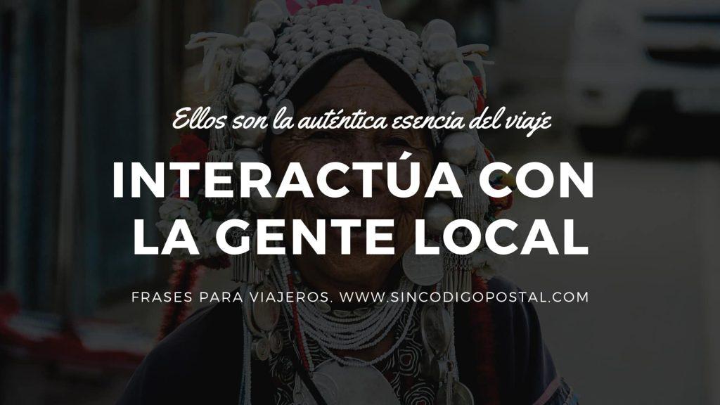 interactuca gente local frases para viajeros