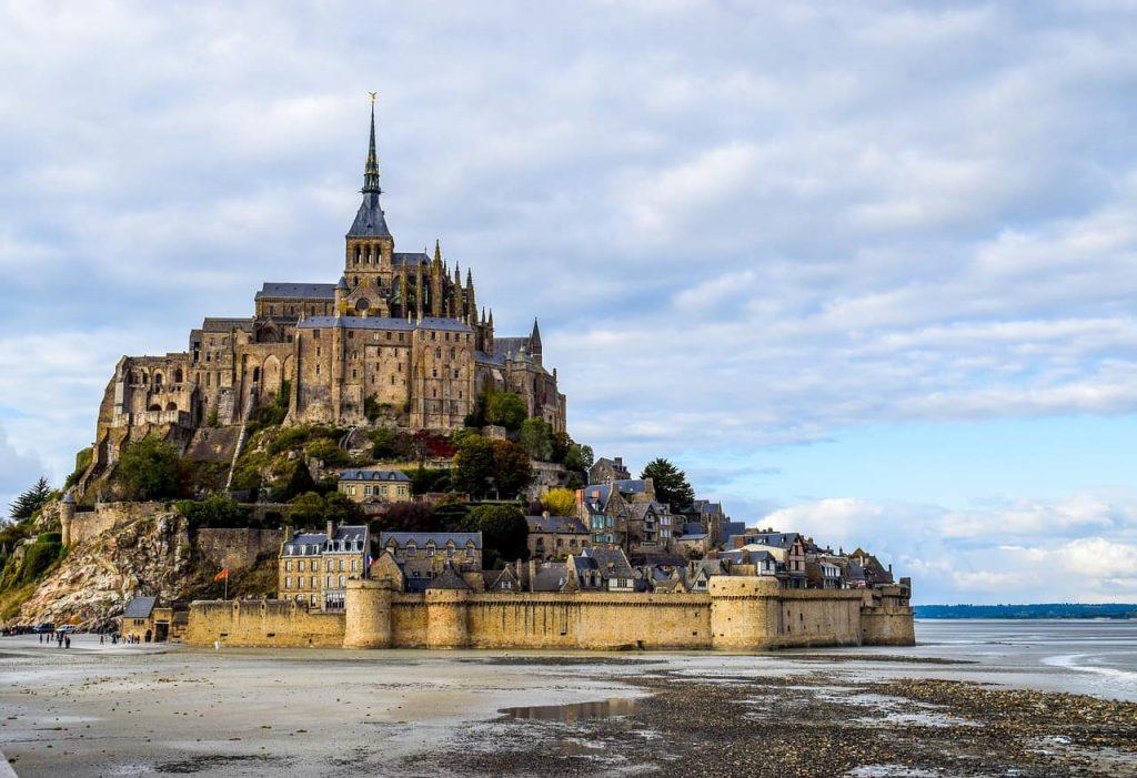El Monte Saint Michel, en Francia