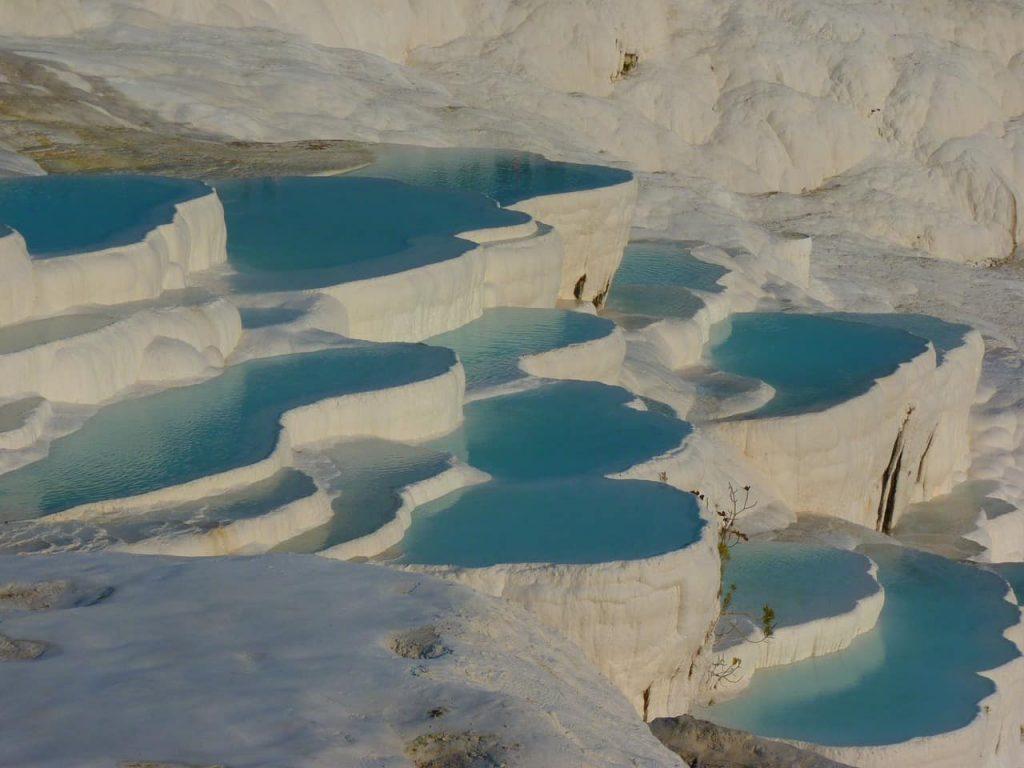 El Pamukkale , en Turquía, un monumento Natural