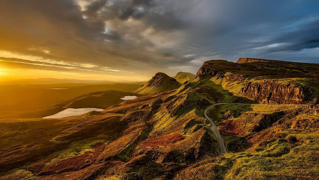 pernoctar camper autocaravana escocia