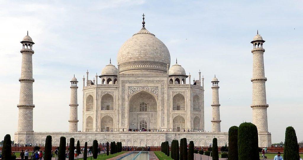 El Taj Mahal, uno de los monumentos UNESCO más representativos