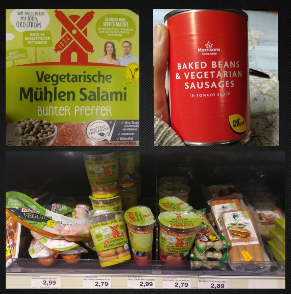 Productos vegetarianos por Europa