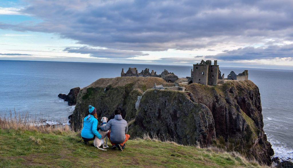 Escocia y sus acantilados...