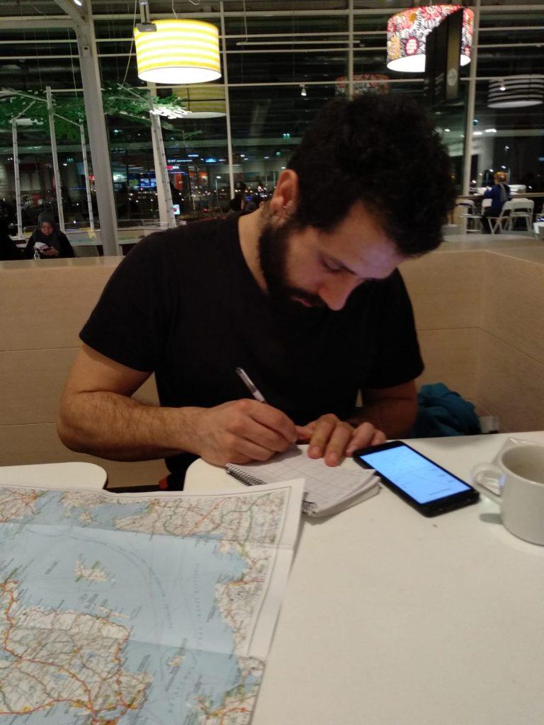 Aprovechando el wifi y planificando en un Ikea