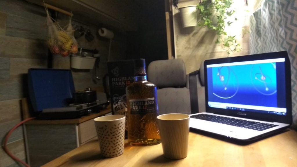 Quien dice vinito, dice un buen Whiskey...