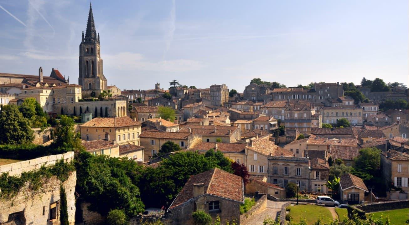 Vistas viejo campanario Saint Emilion