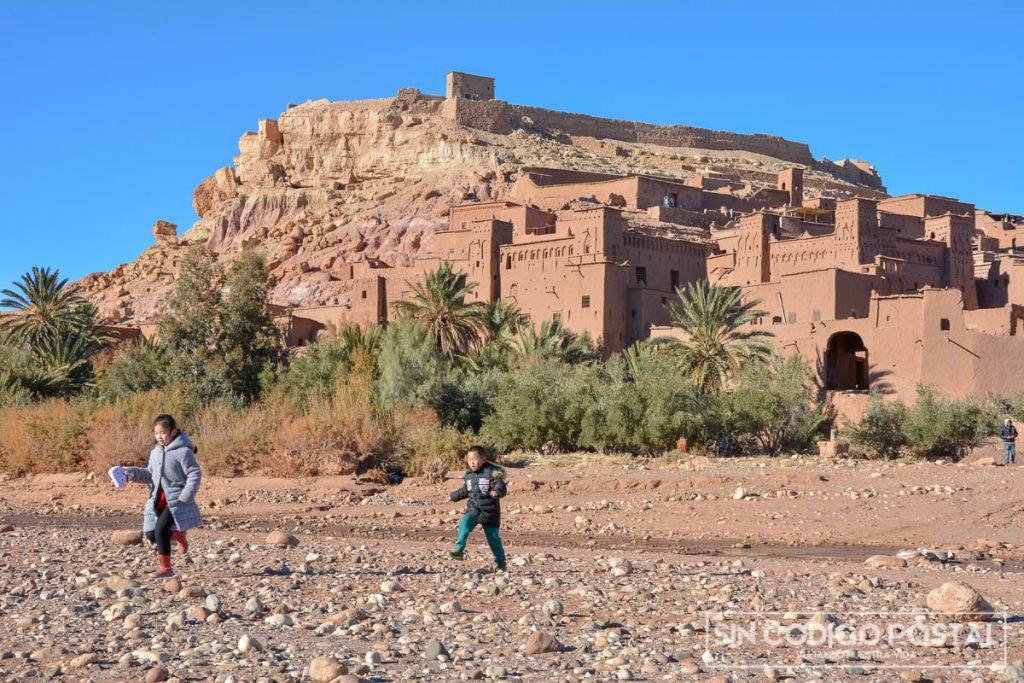 Fortaleza de Ait-Ben Haddou, en Marruecos