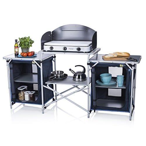 Con uno de estos serás el rey de la cocina en una furgo :)