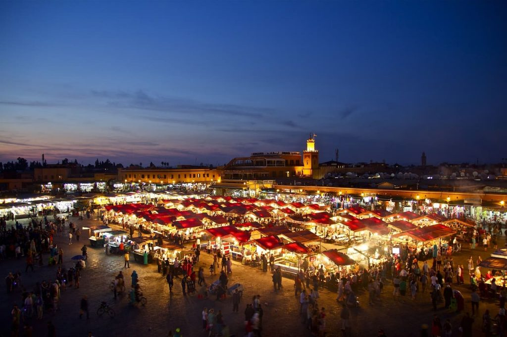 Jemaa el-Fna plaza marruecos