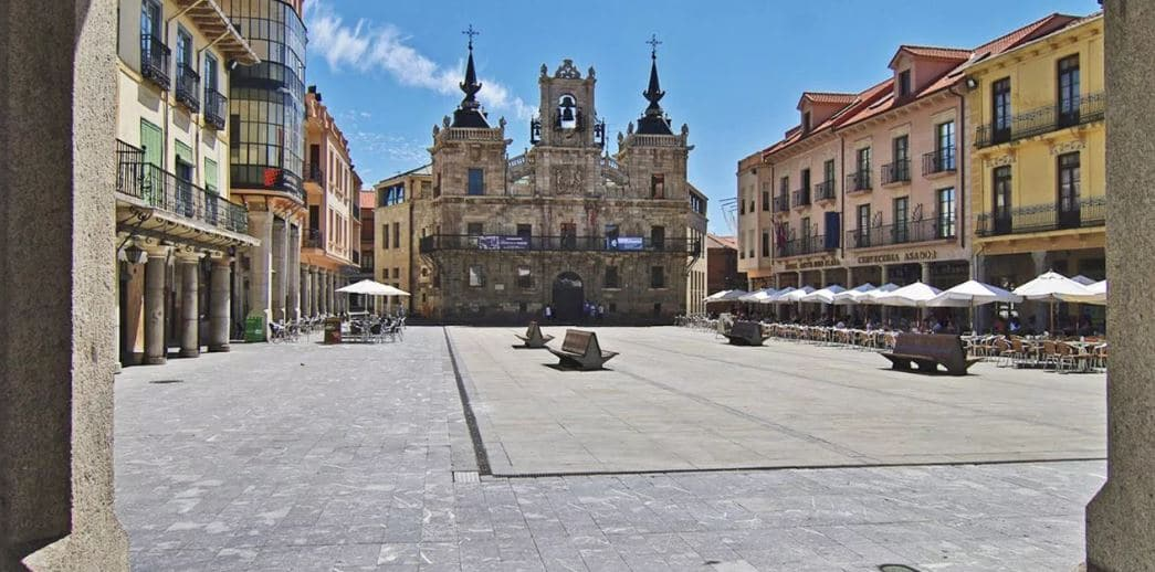 Plaza Mayor de Astorga