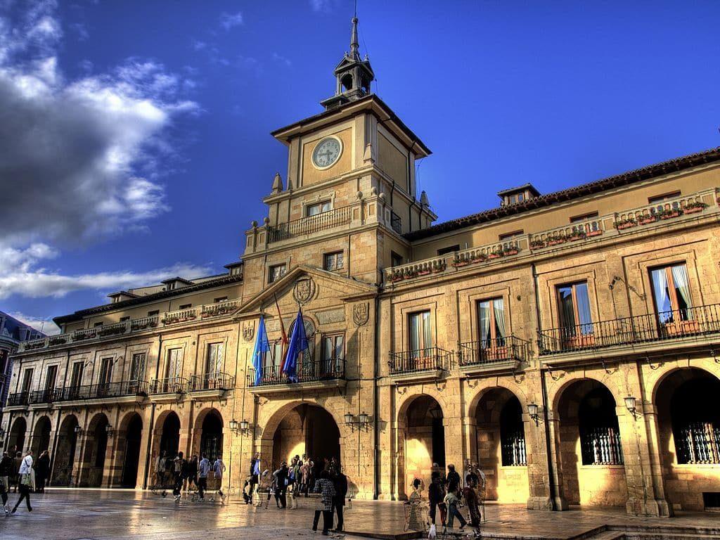 Edificio del Ayuntamiento de Oviedo