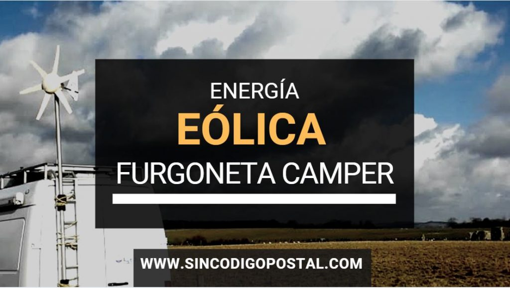 energia eolica furgoneta camper