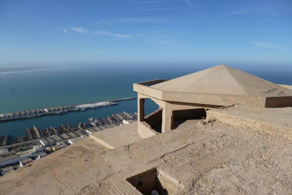 Vistas desde el mirador, en Agadir