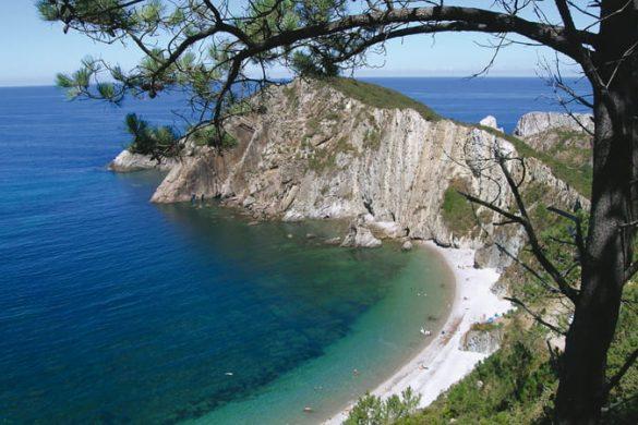 Playa del Silencio en Asturias