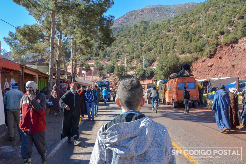 pueblo atlas marruecos