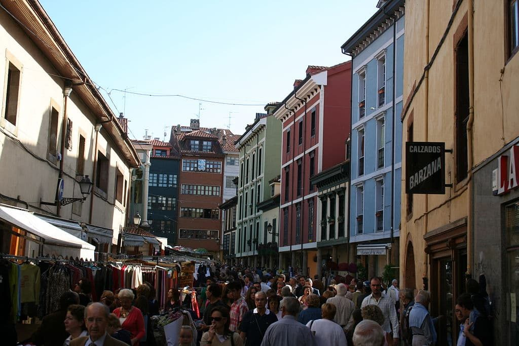Un día de mercado en el Fontán