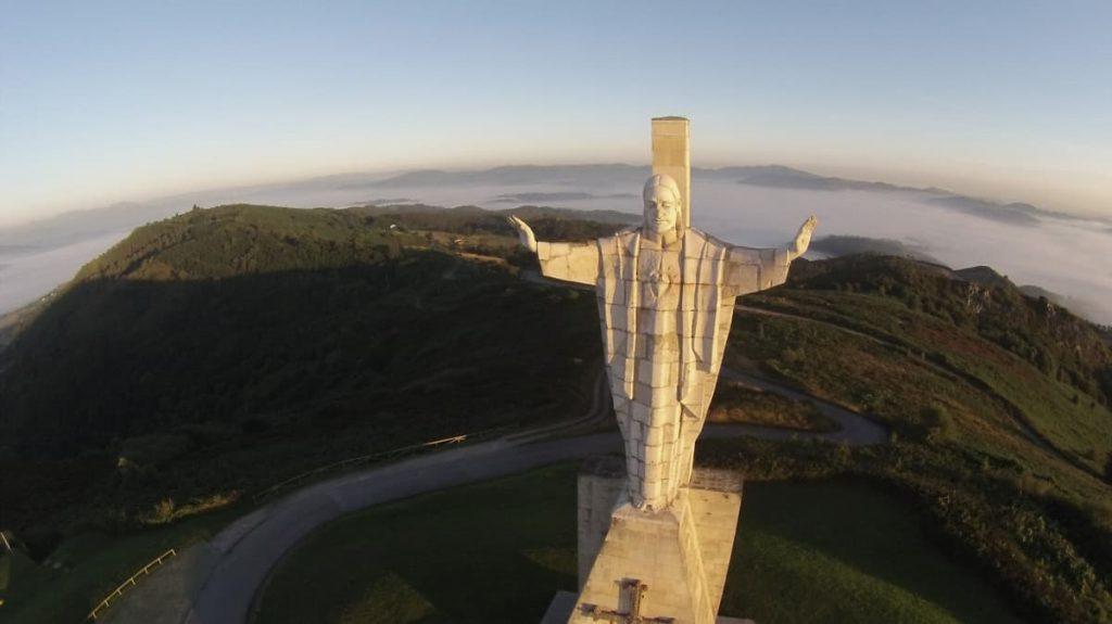 Vistas de un día con nubes desde el Cristo