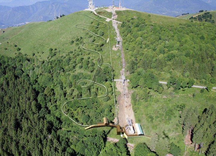 Alpyland en la cima del Monte Mottarone