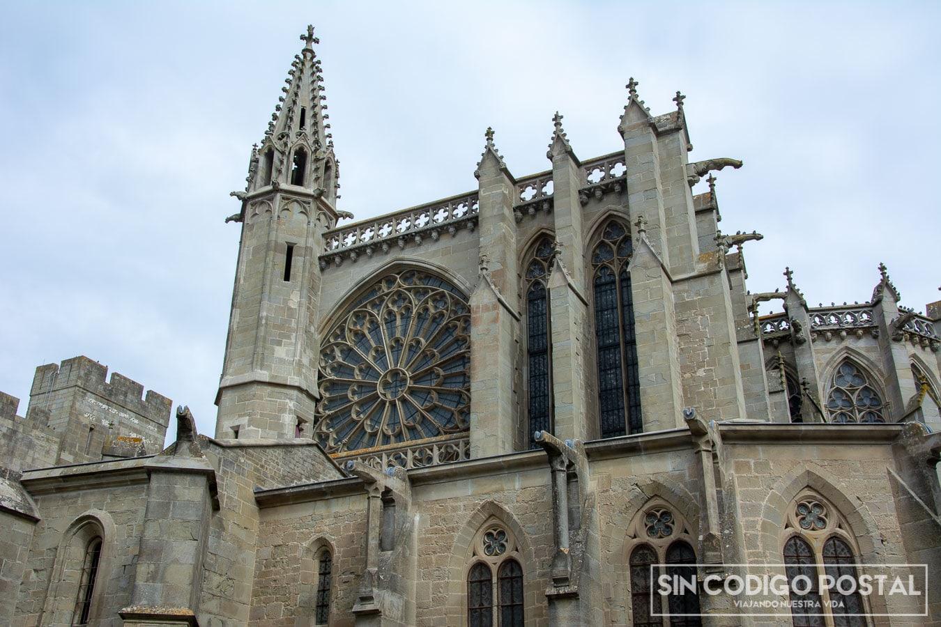 Basílica de Saint-Nazarene en Carcasona