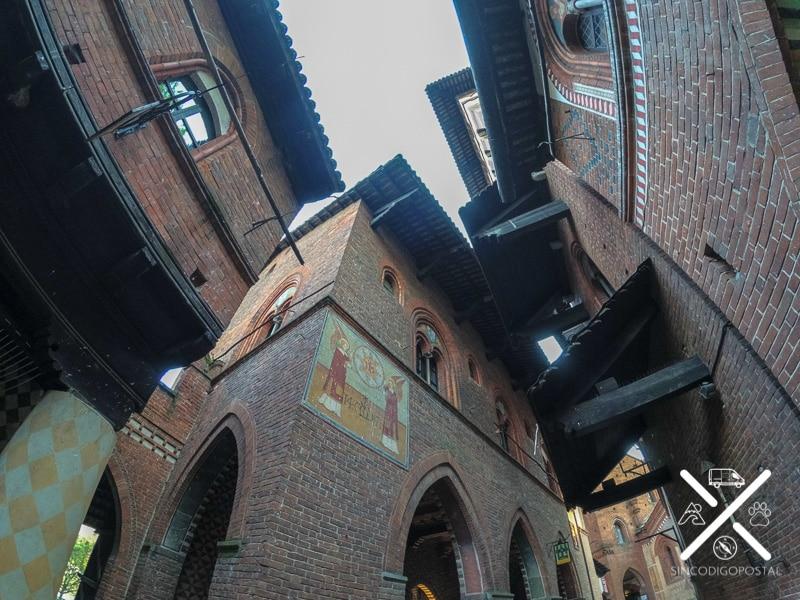 Borgo Medieval en la ciudad de Turín