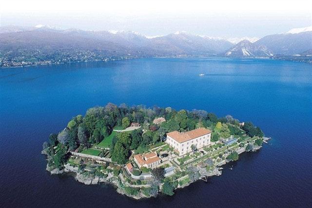 Isla Madre de Lago Mayor