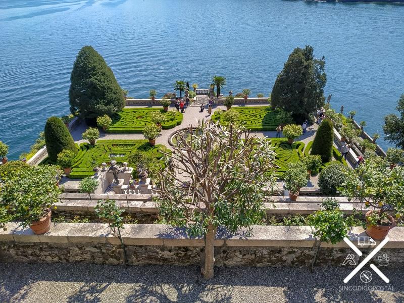 Jardín Palacio Borromeo