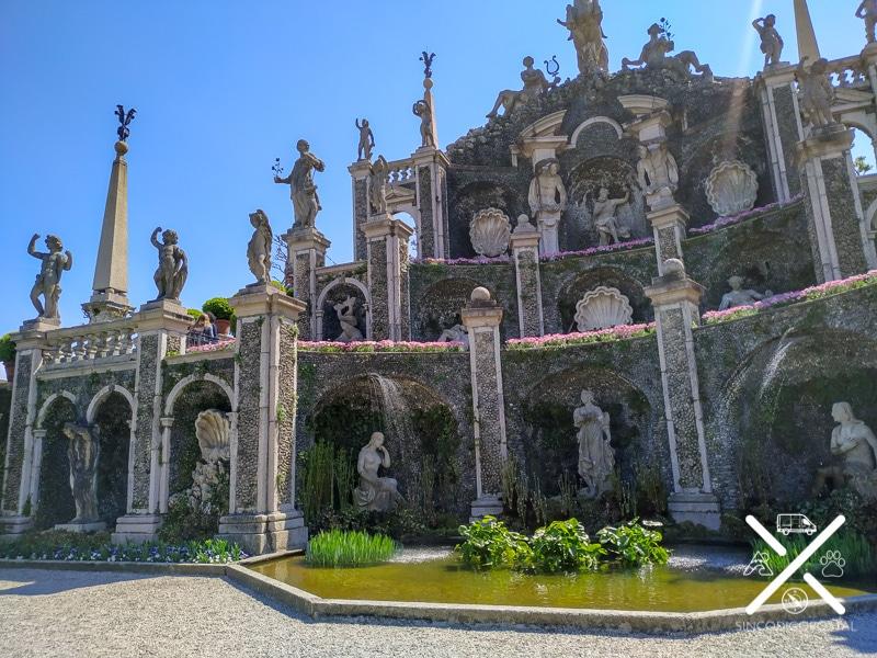 Palacio Borromeo en Isola Bella