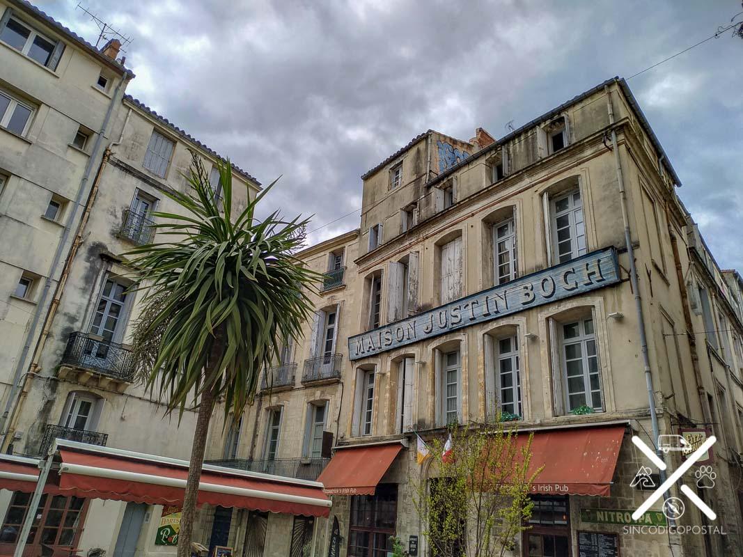 Pedaleando por lugares mágicos de Montpellier