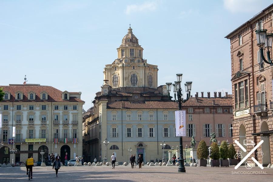 Plaza Castelo de Turín