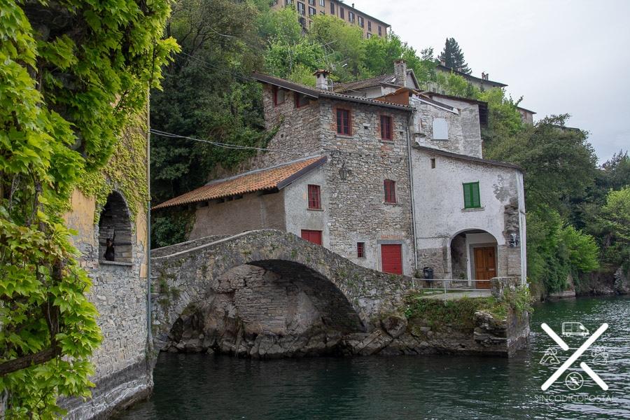 Puente Roma en Nesso