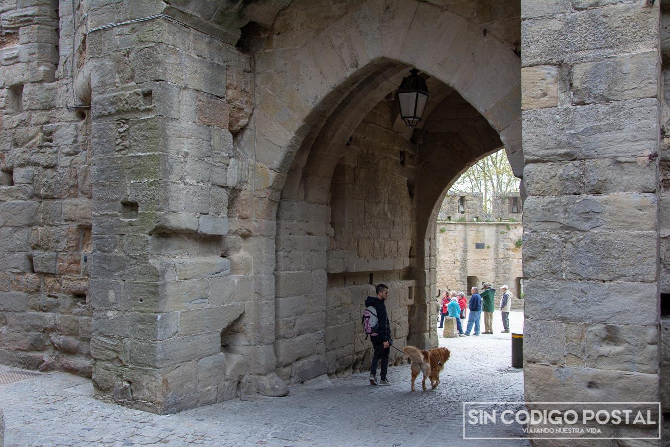 Puerta de Aude en Carcasona