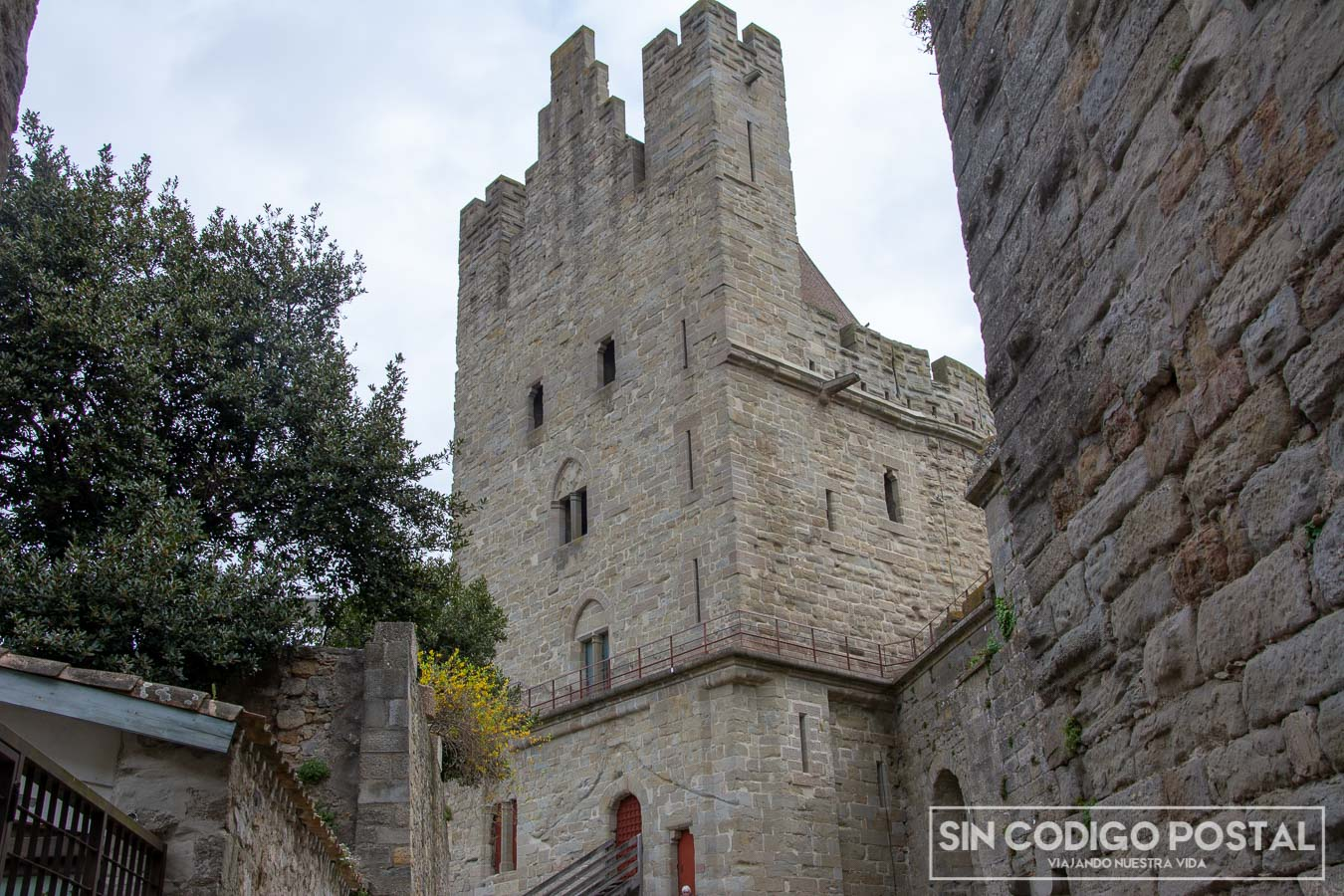Torre del Tresaú en Carcasona