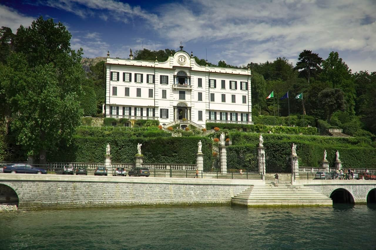 Villa Carlotta en Lago di Como
