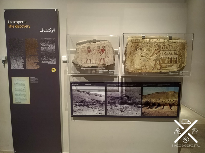 Explicación de los descubrimientos Turín