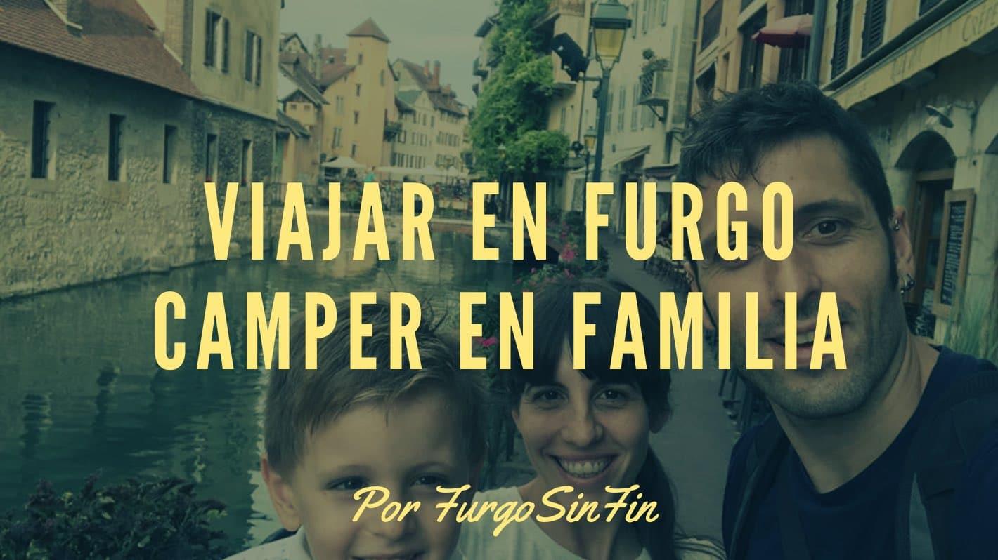 furgosinfin viajar en familia en furgoneta camper