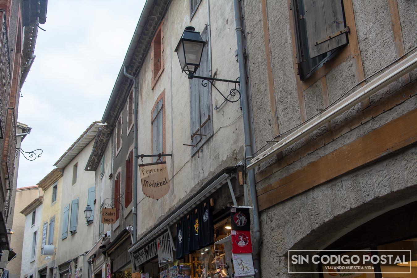Calles de Carcasona