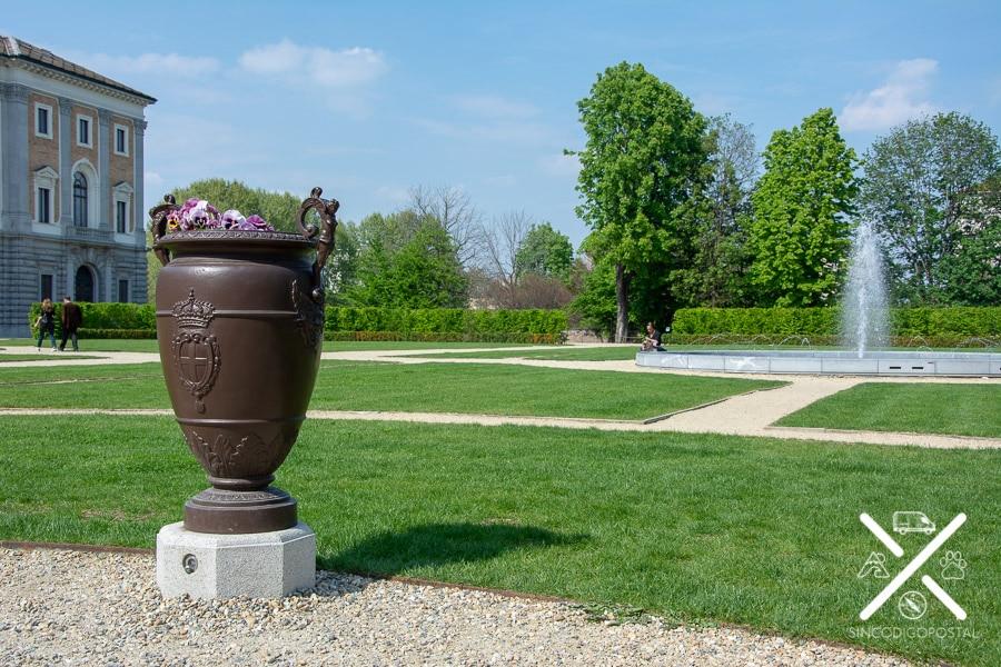jardines del Palacio Real de Turín