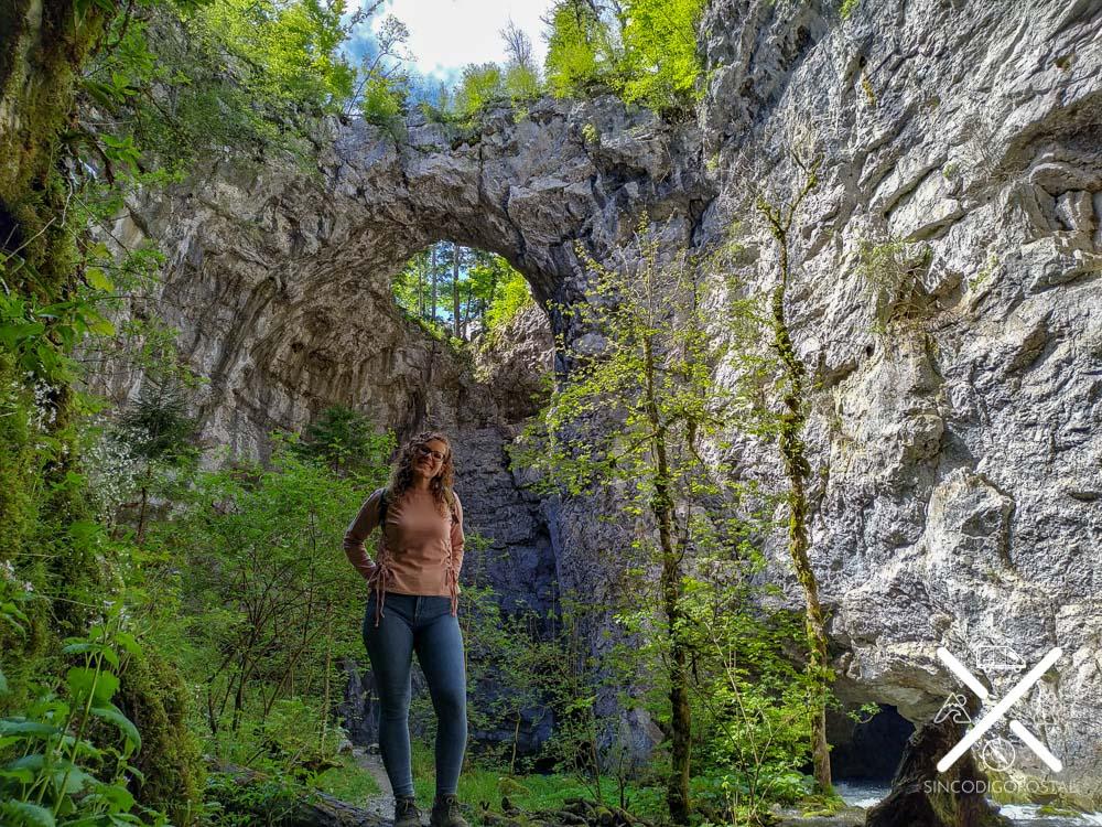 Dolina rodeada de naturaleza