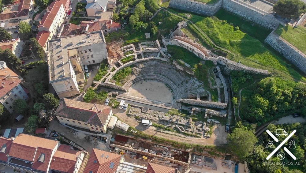 El teatro romano de Pula