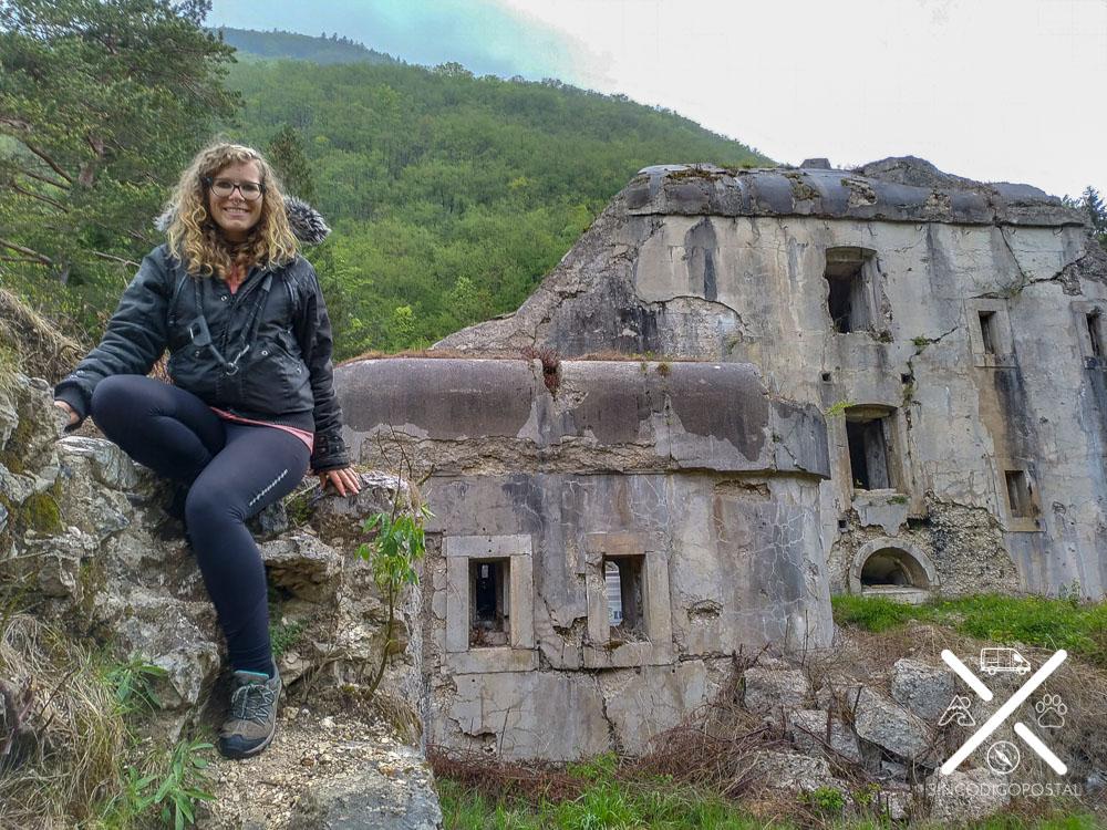 Rocío en el Fort Hermman