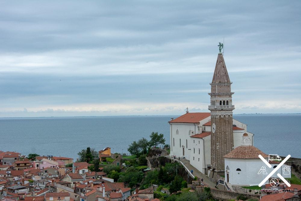 Iglesia de San Jorge en Piran