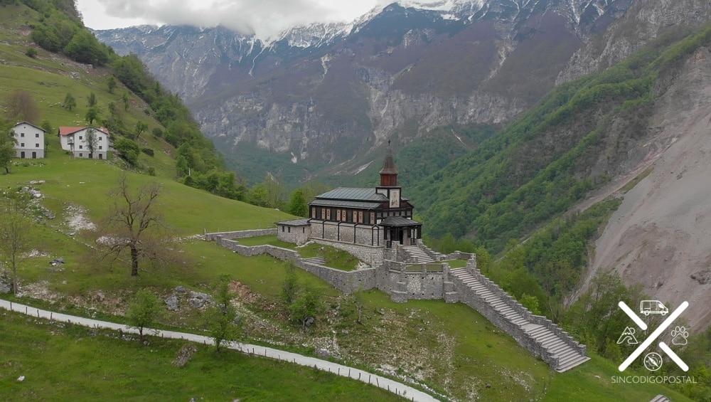 Vistas de los alrededores de la iglesia