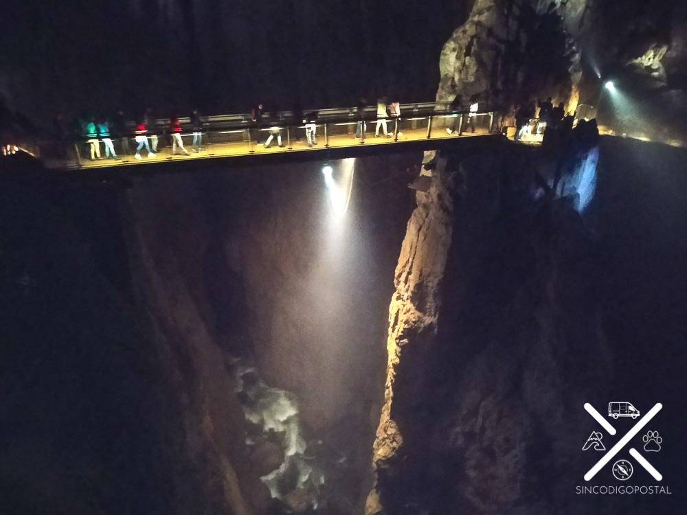 Puente dentro de la parte más famosa